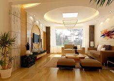 modern ceiling designs -la combinacion de colores