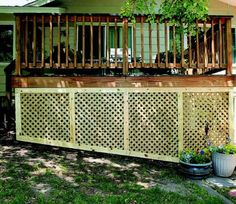 Deck Skirting Ideas - Find ideas and inspiration for Deck Skirting to add to your own home.