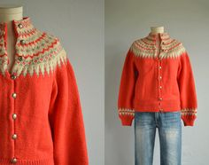 Buying a vintage Norwegian sweater is like buying an instant heirloom. They are infinitely warm and knit ot last well beyond your lifetime. This