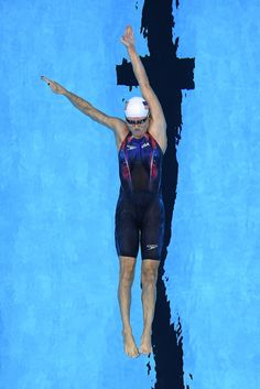 Olivia Smoliga of the United States competes in the Women's 100m Backstroke heat on Day 2 of the Rio 2016 Olympic Games at the Olympic Aquatics Stadium on August 7, 2016 in Rio de Janeiro, Brazil.
