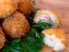 Calamari, Arancini, Kitchen Time, Mani, Fish And Seafood, Fish Recipes, Finger Foods, Baked Potato, Cooking Tips