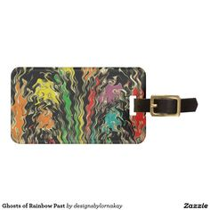 Ghosts of Rainbow Past Bag Tag