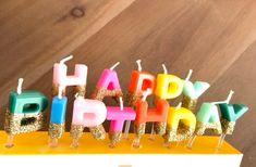 Happy Birthday Candles Rainbow Happy Birthday Candles | Etsy Blush Bridal Showers, Rose Gold Balloons, Happy Birthday Candles, Rainbow Birthday Party, Gold Candles, Balloon Bouquet, Birthday Party Decorations, Etsy, Birthday Decorations