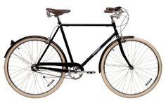 Papillionaire Classic 3 Speed Vintage City Bike, Black | $662