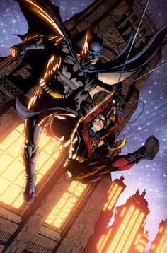 Batman and Robin I need a friend who realizes how awesome Robin is and would prefer to be him