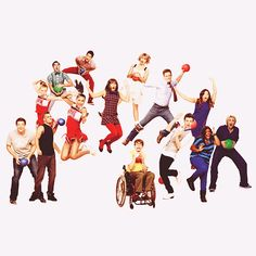 Glee--best cast shoot photo ever!