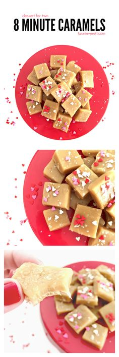 Soft, chewy caramels