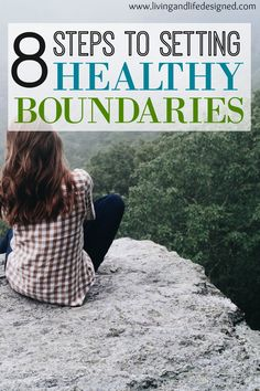 I really struggle with setting healthy boundaries and saying no. These are great steps so I don't feel guilty making boundaries and myself a priority!