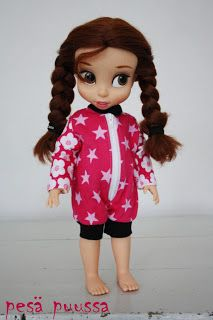 Disney animator doll's outfit