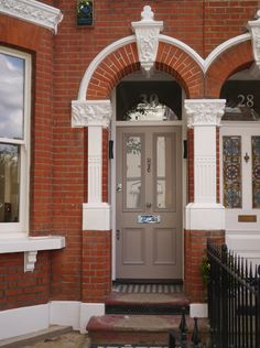 The London Door Company - Front Door Fulham, London - LDC Stone ...