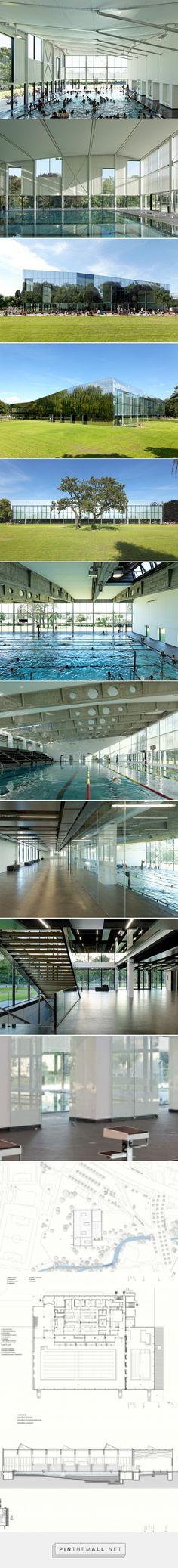 dietmar feichtinger architectes transforms swimming pool kibitzenau - created via http://pinthemall.net