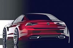 VW New Midsize Coupé: Peking 2014 - Bilder - autobild.de