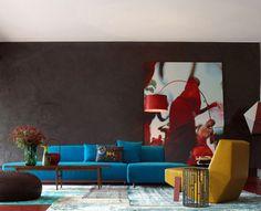 interior-patricia-urquiola, colorful-interior design, contemporary design, luxurious trends for home