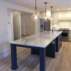 Just finished this custom kitchen and we love it! Full House, My House, Kitchens, It Is Finished, Cool Stuff, Home Decor, Decoration Home, Room Decor, Kitchen