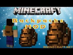 Minecraft Backpacks Mod 1.15.2-1.12.2-1.10.2 – Craftable backpacks #Minecraft #Games #Gaming #Programming #Review #Tutorial Minecraft Funny Moments, Funny Minecraft Videos, Minecraft Games, Minecraft Mods, Minecraft Creations, Minecraft Backpack, Minecraft Challenges, Minecraft Construction, Minecraft Survival