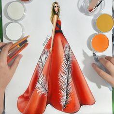 2,057 個讚好,22 則回應 - Instagram 上的 Zoljargal Enkhbold(@zoljargal_e):「 old work ____________________________ #fashionillustration #work #art #artist #illustration… 」