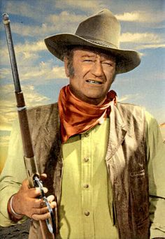 """You gotta be a man first before your a gentleman."" John Wayne in McClintock...aint that the truth..."