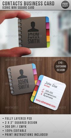 square business cards | Contacts-Business-Card-square-business-cards.jpg