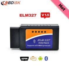 ELM327 OBD2 Diagnosegerät Auto Wifi Diagnose Scanner Interface OBDII Werkezeug