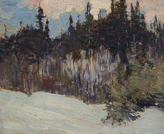 J.E.H. Macdonald - Algonquin Park 8 x 10 Oil on board (1914) signed verso Tom Thomson, Algonquin Park, Group Of Seven, Fine Art Auctions, Art Of Living, Landscape, Artist, Oil, Painting
