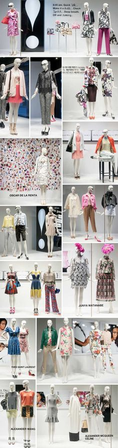 Window Shopping: Inspiration from Nordstrom Downtown Seattle store windows. #Fashion