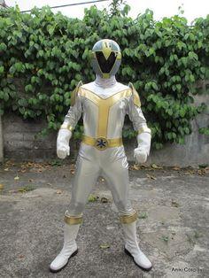 Titanium Lightspeed Ranger Cosplay.  #SonGokuKakarot