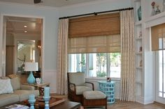 picture window Treatments | ... House - tropical - window treatments - tampa - by Finishing Touches
