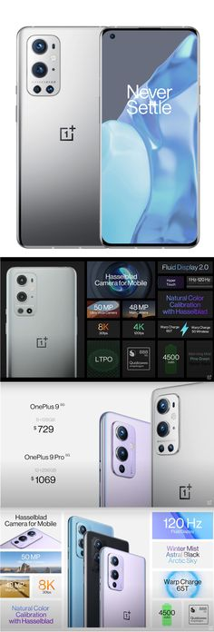 The OnePlus 9 5G and OnePlus 9 Pro 5G offer sharp, big screens, powerful Qualcomm Snapdragon 888 processors and Hasselblad-designed cameras that hold up well against Samsung and Apple smartphones. The One Plus 9 5G has a flat 6.55-inch display while the curved 6.7-inch screen on the OnePlus 9 Pro 5G has game-friendly tech that adjusts its refresh rate from 1Hz-120Hz. Both offer OxygenOS, OnePlus's enhanced version of Android 11. CLICK THE PIC to read more in Sree's Sunday Note… Cool Tech, Screens, Cameras, Smartphone, Sunday, Android, Samsung, Display, Domingo