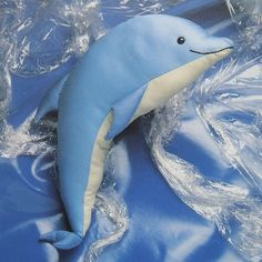 vintage FLIPPER THE DOLPHIN sewing pattern (90s). $7.00, via Etsy.