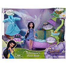 Disney Fairies 4.5 inch Doll Playset - Silvermist's Pixie Bathroom