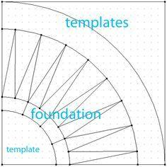 Sampler Class: Foundation Piecing Part 1 Free Paper Piecing Patterns, Quilt Block Patterns, Pattern Paper, Quilt Blocks, Quilt Boarders, Hexagon Quilt, Quilting Tips, Quilting Designs, Quilt Design