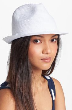 Collection XIIX Woven Fedora available at #Nordstrom