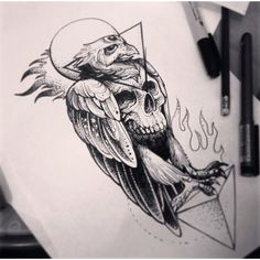 Alex Tabuns Tattoo Artist - St. Petersburgh, Russia | EgoDesigns ❤ liked on Polyvore featuring accessories
