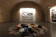 Biennale Italia – Cina #artecontemporanea #italocinese Mastio della Cittadella #Torino