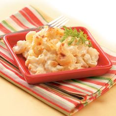 Creamy Macaroni and Cheese Recipe -This is the ultimate mac-and-cheese. It's creamy, thick and very rich, and it holds the wonderful cheddar flavor. Once you taste it, you will be hooked. —Cindy Hartley, Chesapeake, Virginia