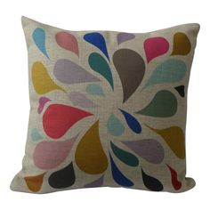 Happy Tuesdays cushion cover - hardtofind.
