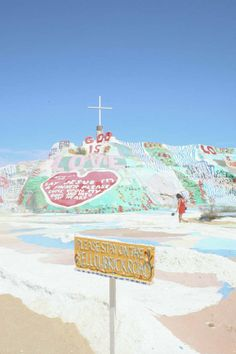 Salvation Mountain oh yes. i love salvation mountain. martha's bucket list for sure