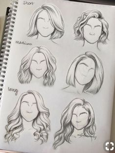 Pin By Abbmdavenport On Hairs How To Draw Hair Hair Sketch Art- hairstyles drawing short tomboy hairstyles drawing Drawing Techniques, Drawing Tips, Drawing Reference, Painting & Drawing, Hair Styles Drawing, Drawings Of Hair, Drawing Faces, Pencil Drawings, Drawing Drawing