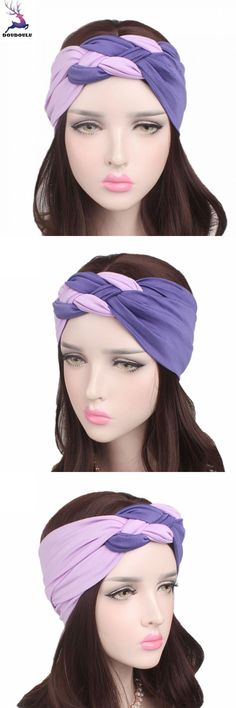 Baby Girl Elastic Bowknot Headband Hair Band Bohemia Headdress Hair Accessories Para El Cabello Scrunchie Turban Headband Toka Moderate Price Hair Accessories