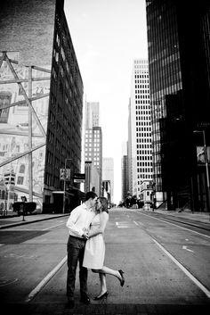 Romantic Engagement Photos...Downtown Houston