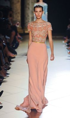 Elie Saab Haute Coture Spring 13. Love it. I would wear it to the Academy Awards probably.