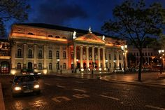 The National Theatre D. Maria, #Lisbon