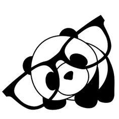 Riscos graciosos (Cute Drawings): Riscos de ursinhos (Bears, teddy bears and pandas) Kawaii Drawings, Cartoon Drawings, Easy Drawings, Animal Drawings, Pencil Drawings, Niedlicher Panda, Panda Art, Panda Love, Cartoon Panda