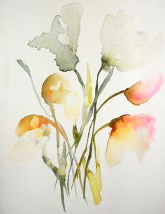A minimalistic interpretation of delicate flowers.