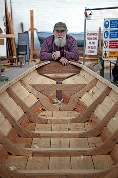 Wood still talks to us. W M Nixon takes a look at current Irish wooden boat-building projects. Wood still talks to us. W M Nixon takes a look at current Irish wooden boat-building projects. Wooden Canoe, Wooden Sailboat, Wooden Boat Building, Boat Building Plans, Wooden Ship, Sailboat Plans, Plywood Boat, Wood Boats, Model Boat Plans