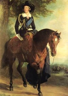 Queen Victoria was an acomplished rider.