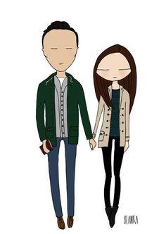 Couples illustration image 20