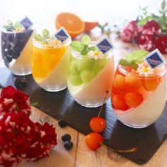 Dessert-Rezepte: 67 Quick Easy & Actually Delicious Dessert Recipe Ideas Your Fa … - New ideas Quick Dessert Recipes, Köstliche Desserts, Delicious Desserts, Yummy Food, Food Garnishes, Dessert Cups, Cute Food, Creative Food, Food Presentation