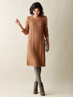 ケーブルワンピース | レディースファッション通販サイトFABIA(ファビア)