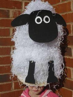 Paper Mache Easter Lamb   Sew Cool Creation